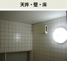 天井・壁・床