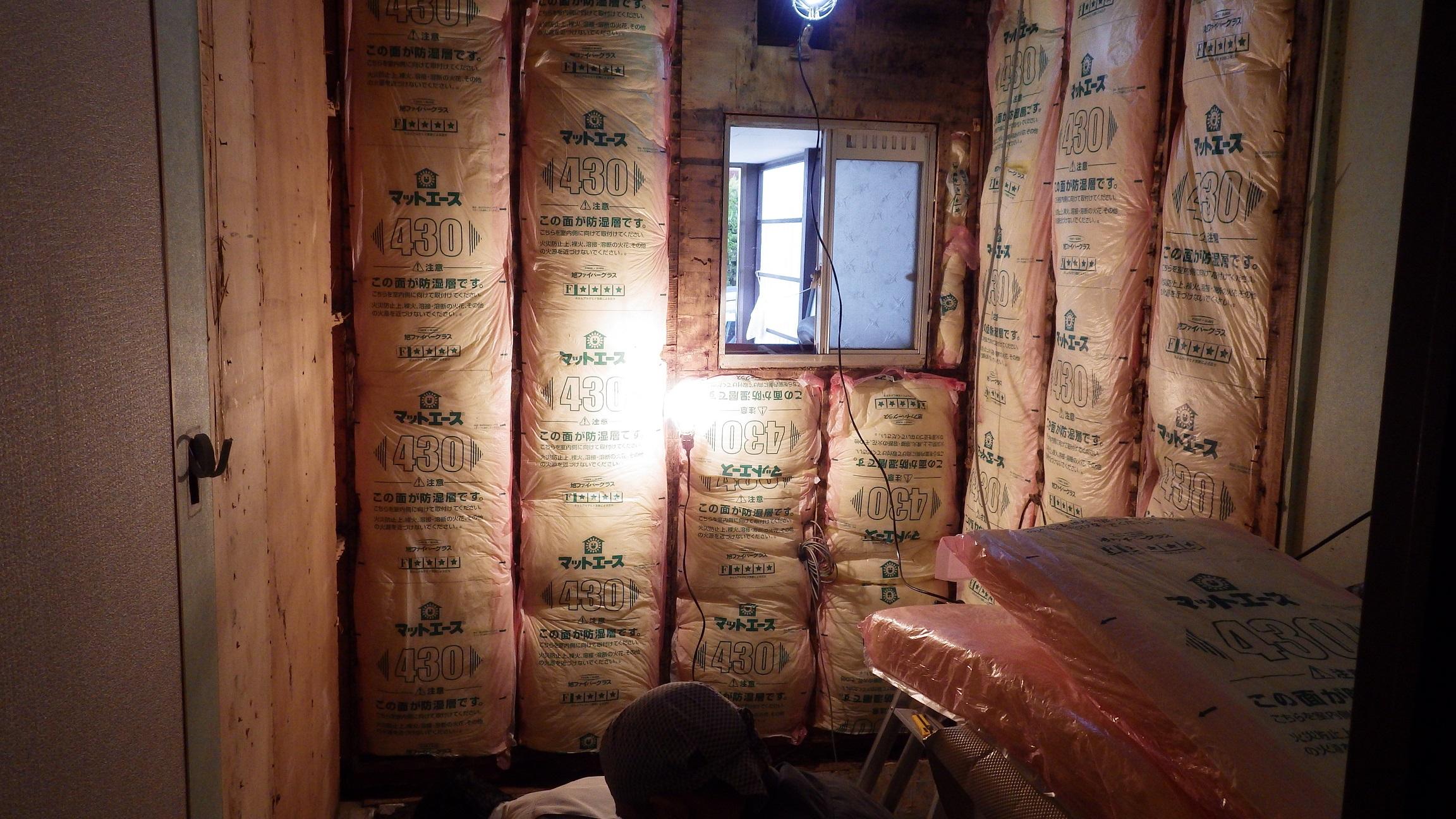 断熱材・下地木材