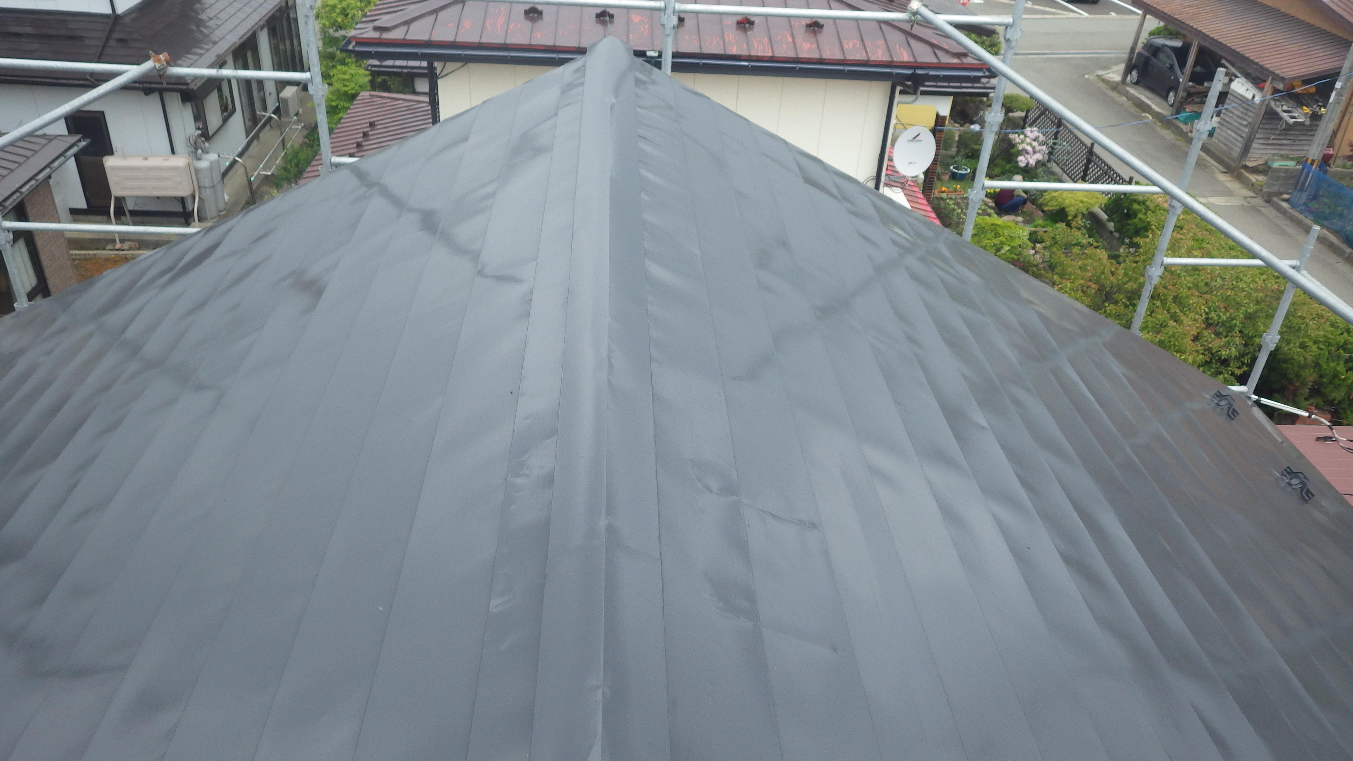 屋根塗装 シリコン仕上げ
