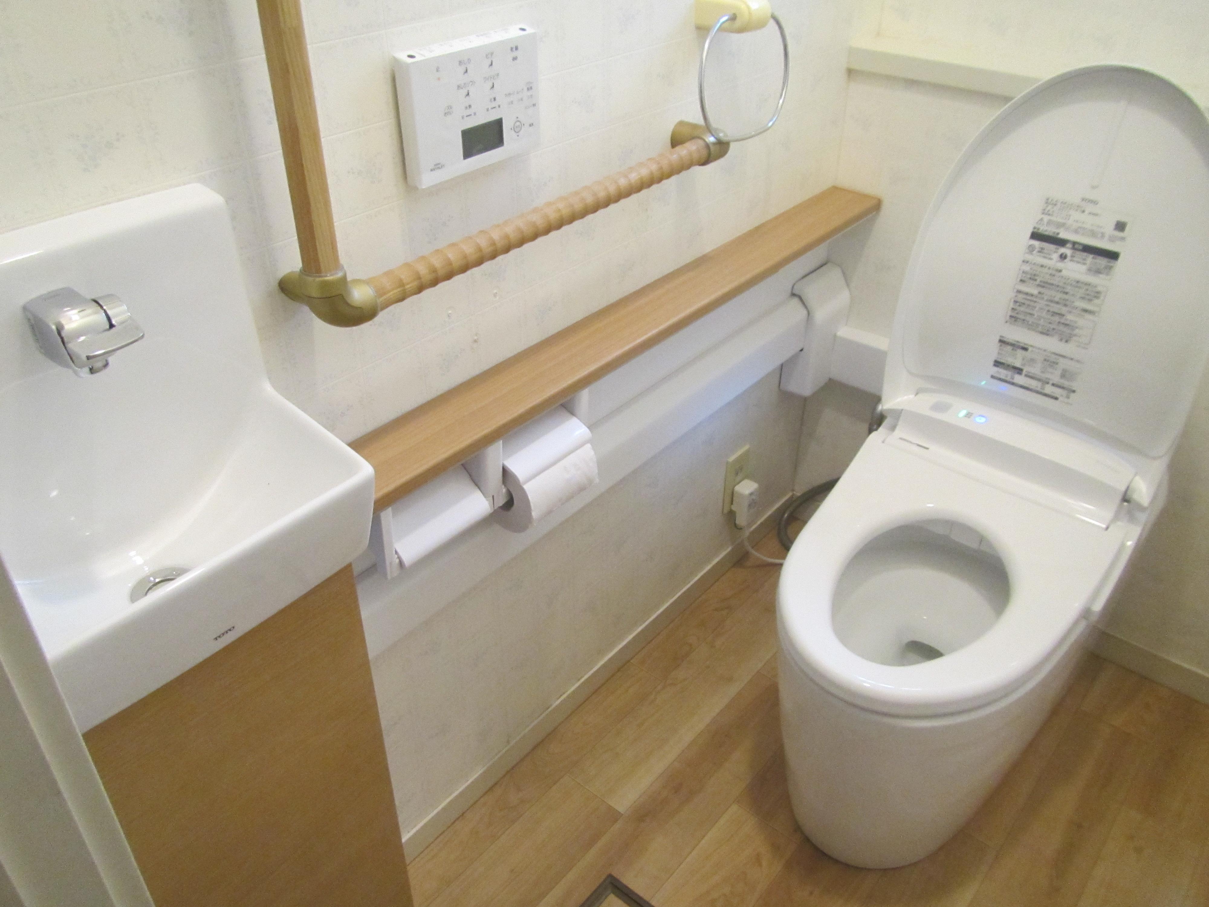 トイレ交換工事(ワンデーリモデル)