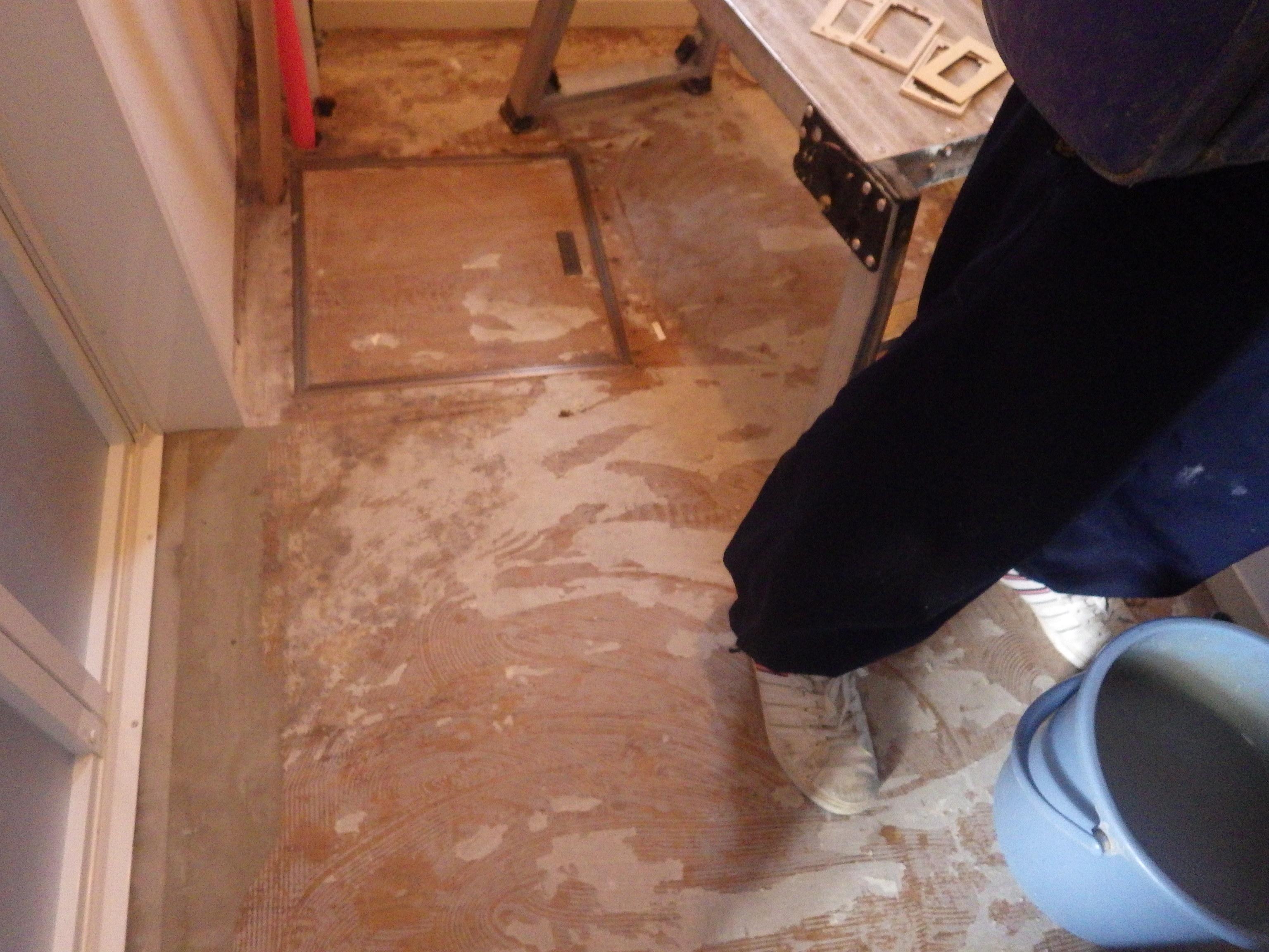 洗面脱衣室内装工事