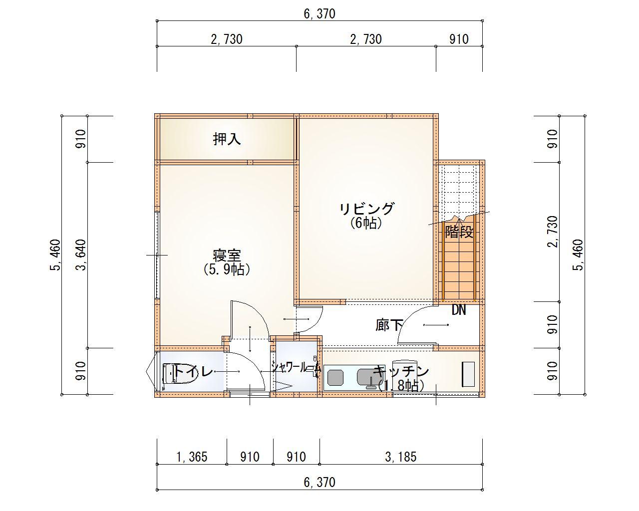 2階竣工図
