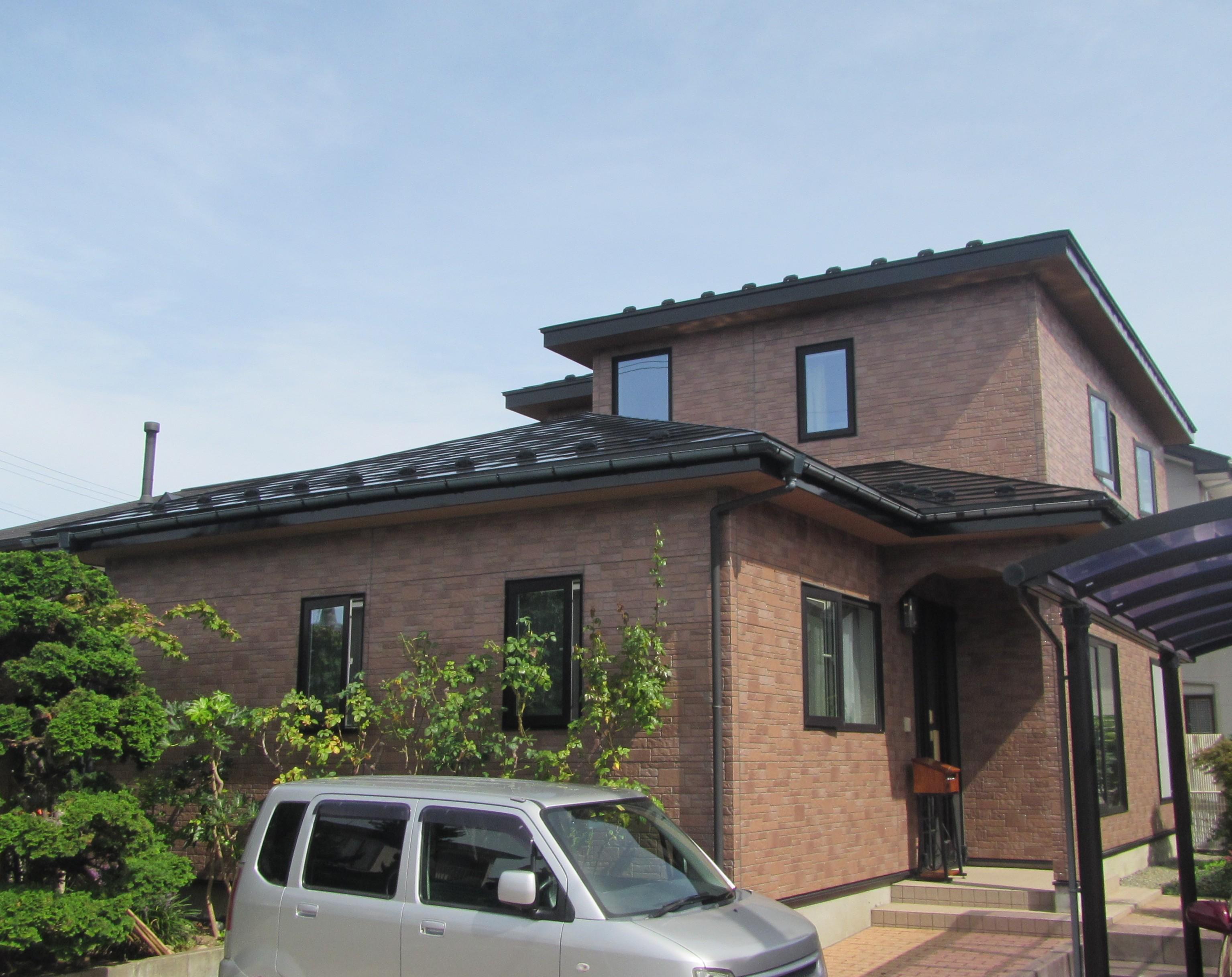 外壁塗装(スーパームキコートクリア)・屋根塗装工事