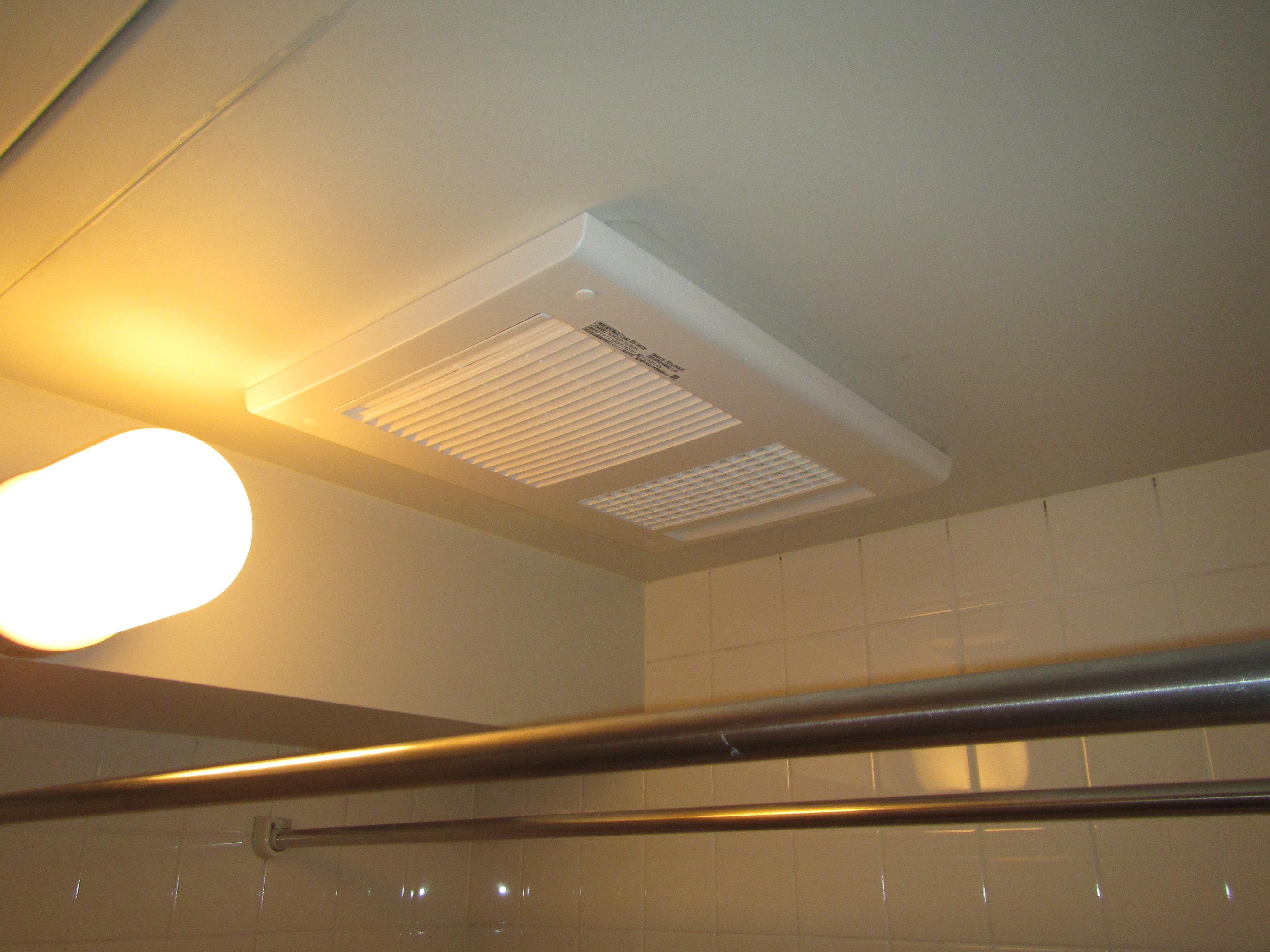 浴室暖房換気乾燥機入替工事