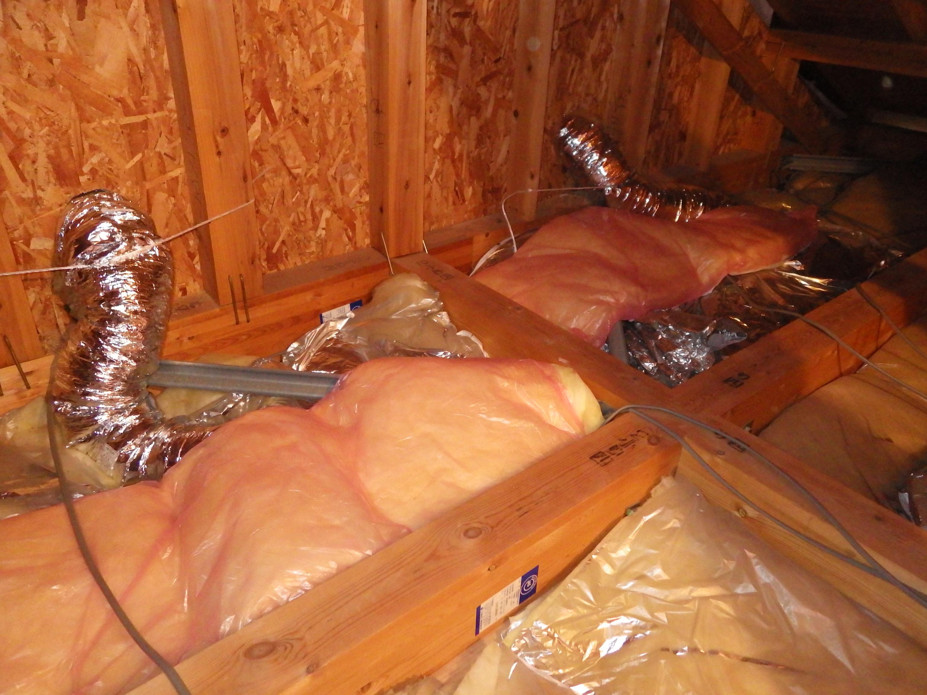 天井換気扇から滴り落ちる結露水を無事解決